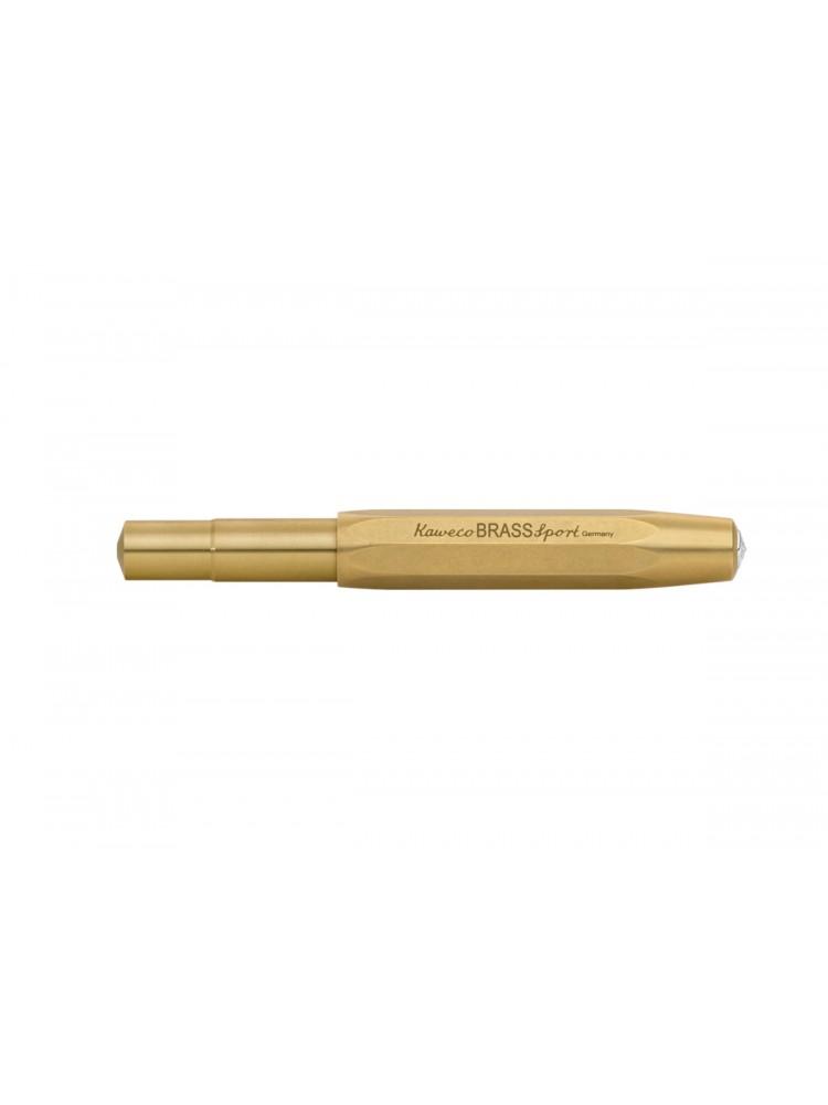 Parkeris Brass Sport (žalvario) M. Kaweco