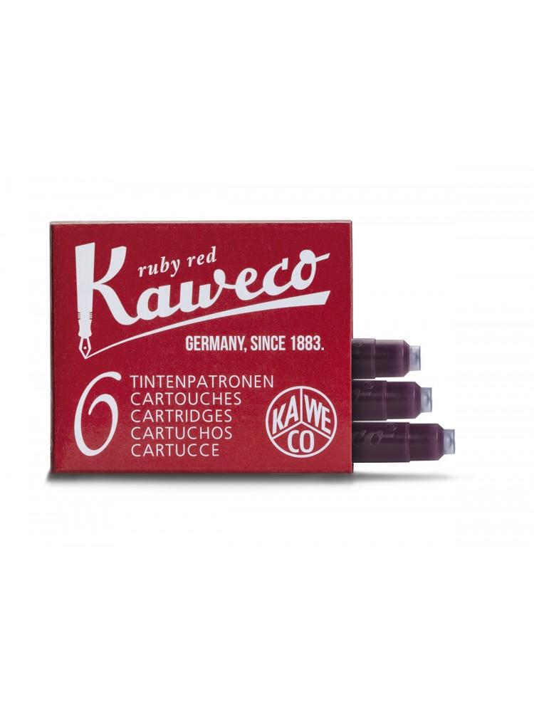 Kapsulės parkeriams (rubinų raudona). Kaweco