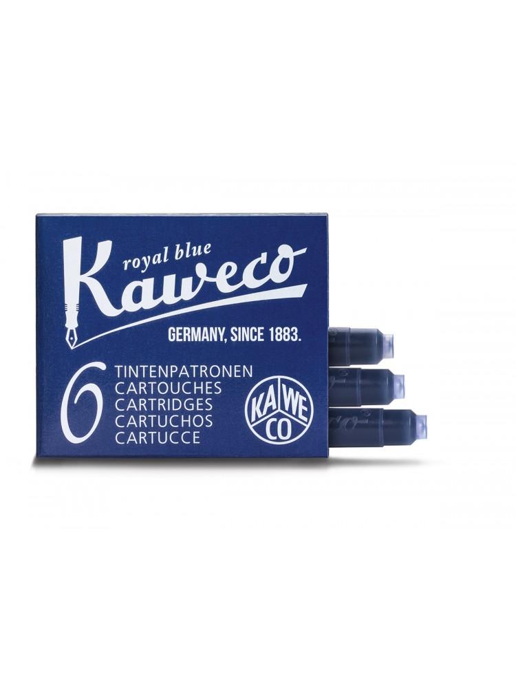 Kapsulės parkeriams (karališkai mėlynos). Kaweco