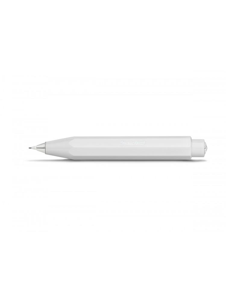 Išspaudžiamas pieštukas Skyline Sport (baltas) 0.7 mm. Kaweco