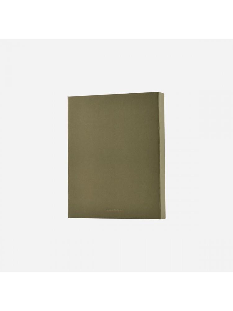 Dokumentų segtuvas (žalia). Monograph
