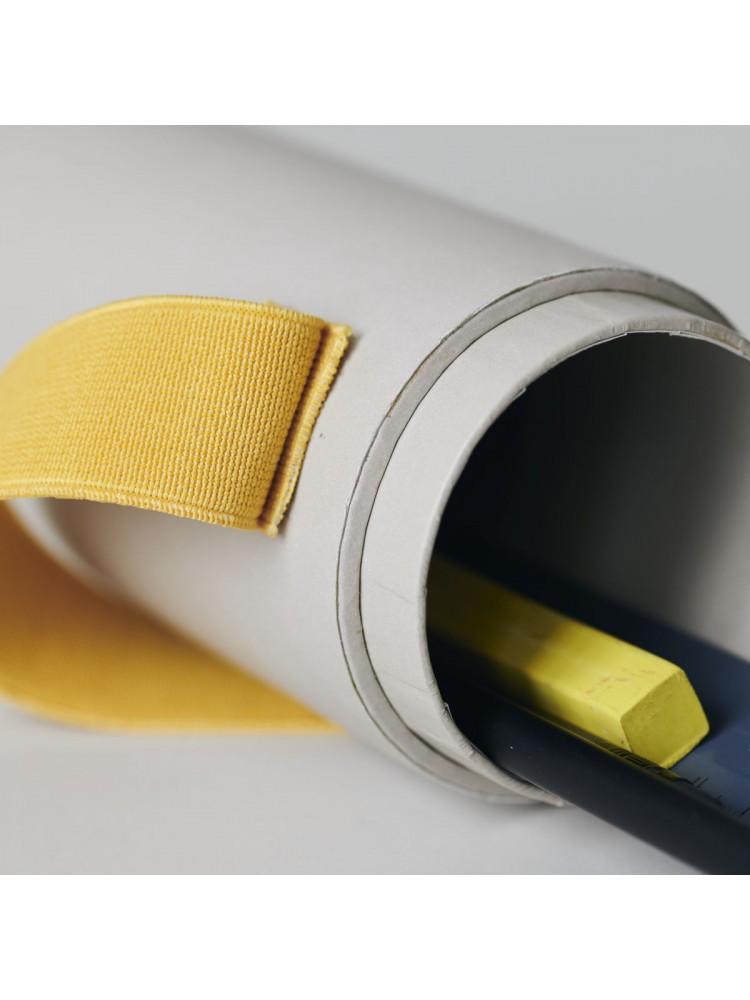 Rašiklių dėklas - penalas (geltona). Monograph