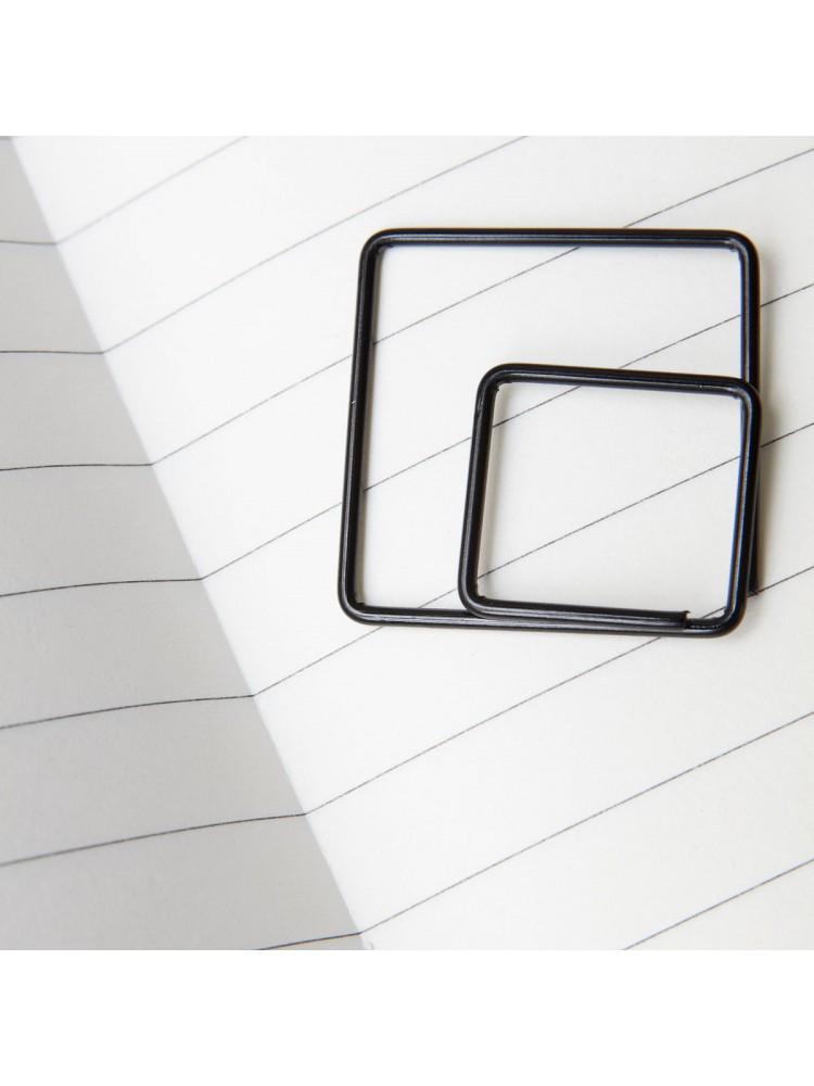 """Sąvaržėlės """"Kvadratas"""" (juoda). Monograph"""
