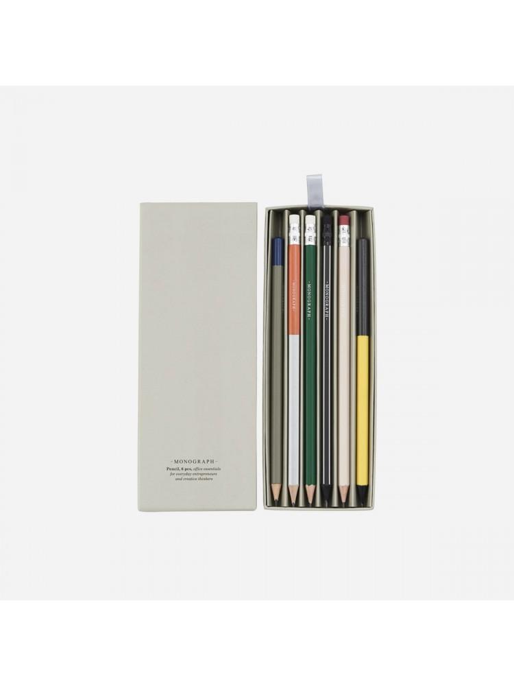 Pieštukai, įvairūs. Monograph
