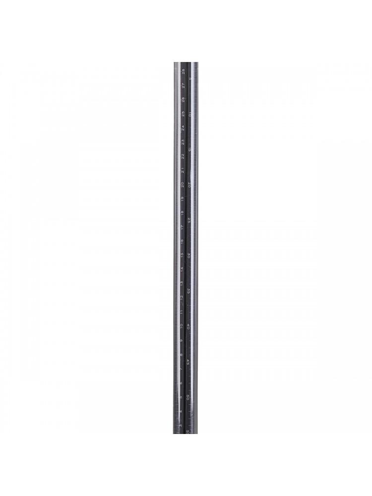 """Liniuotė """"Trikampis"""", 30 cm (juoda). Monograph"""