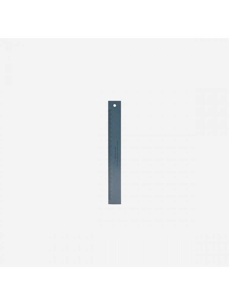 Liniuotė, 20 cm (tamsiai mėlyna). Monograph