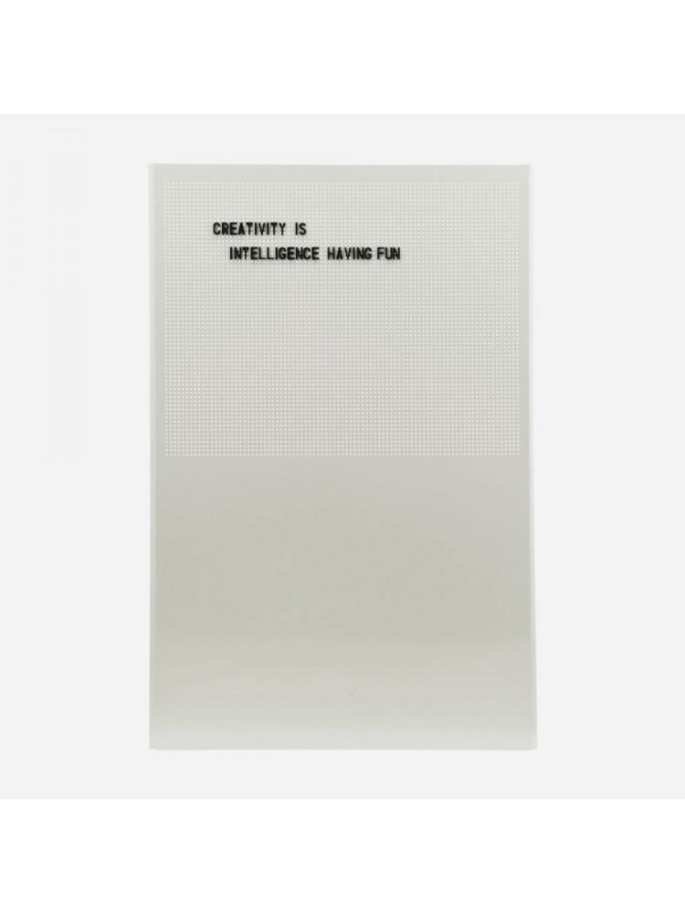 Magnetinė lenta, tinklelis, (pilka). Monograph