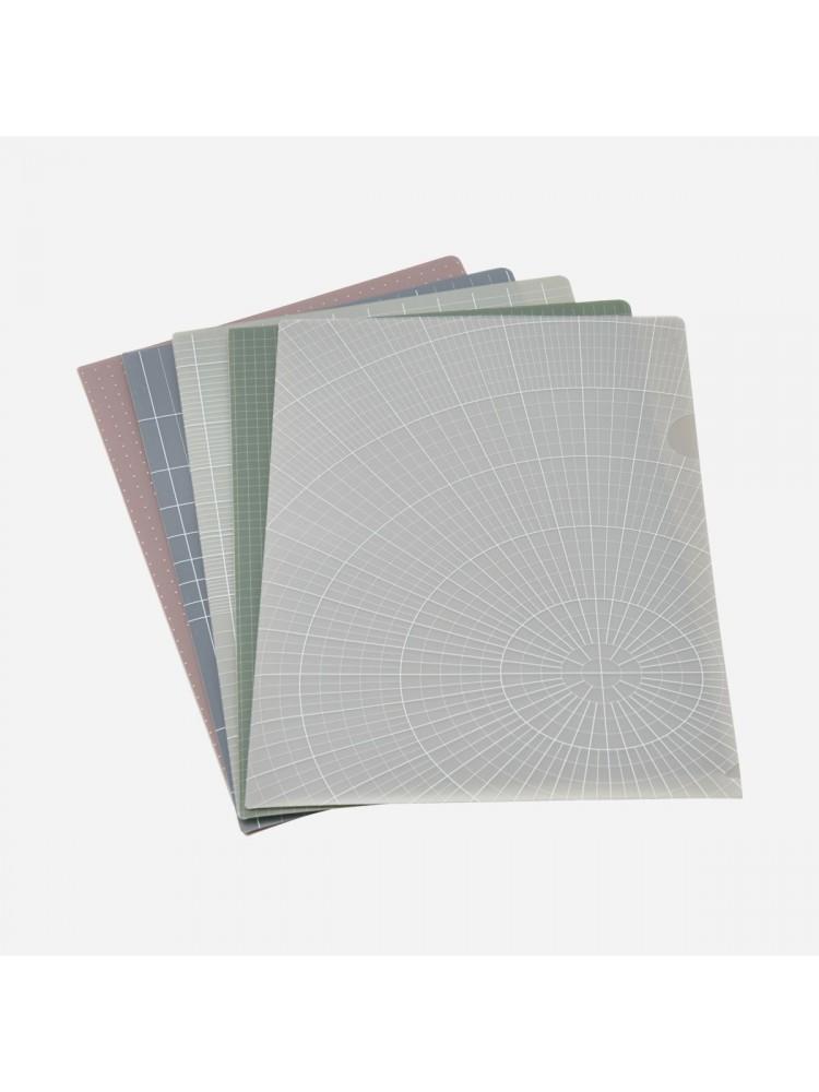 Dokumentų aplankas, A4 (pasteliniai). Monograph