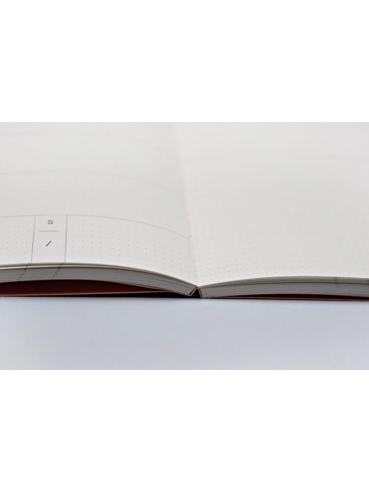 Savaitinė darbo knyga A5. 2021. Knygų atramos. The Completist