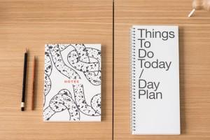 Dienos, savaitinė ir mėnesinė darbo knyga?